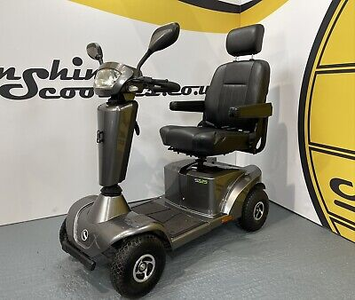 Sterling S425 Electric Mobility Scooter - 8mph, All Terrain, Suspension