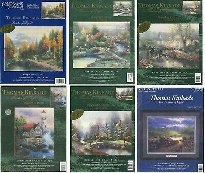 Thomas Kinkade cross stitch kits U-PICK 51032 50964 51070 50923 50961 50895 NEW