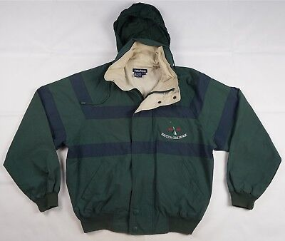 Rare VTG NAUTICA Challenge J-Class 1930 1937 Spell Out Sailing Jacket 90s Size L