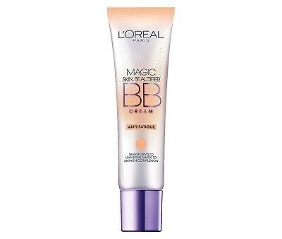 L'oreal Paris Magic Skin Beautifier Bb Cream, Anti-fatigue,