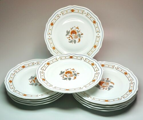 "10 Richard Ginori Italy Taormina 10"" Dinner Plates Excellent Condition"