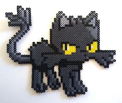 Halloween Litten Pokémon Pixel Art Perler Bead Art
