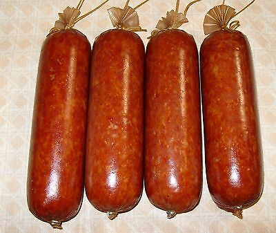 Collagen Sausage Casings For Smoked Sausage 10Pc   50Mm 2 In  X 12In For 10Lb