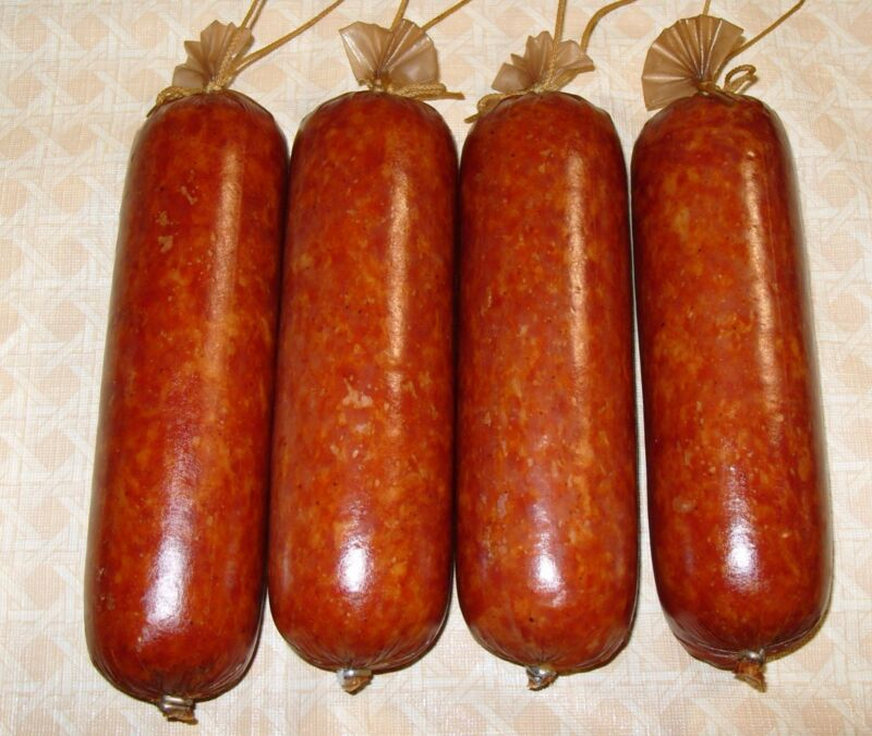 Collagen Sausage Casings for smoked sausage 25 pc/ 50mm(2 in) x 12in for 25lb