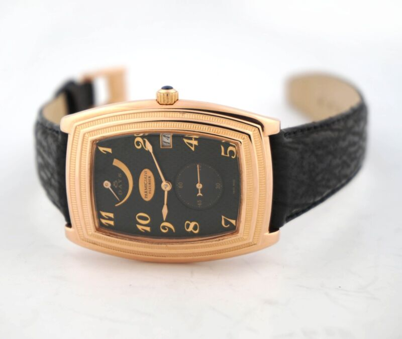 PARMIGIANI FLEURIER IONICA 8 DAYS POWER RESERVE DATE 18K ROSE GOLD WATCH - watch picture 1