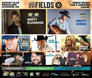 Looking for campsite for music in the Fields