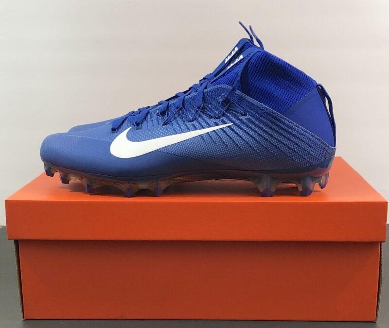 10ec29726010 Nike Vapor Untouchable 2 CF Football Cleats Size 13 Royal Blue White 924113 -400