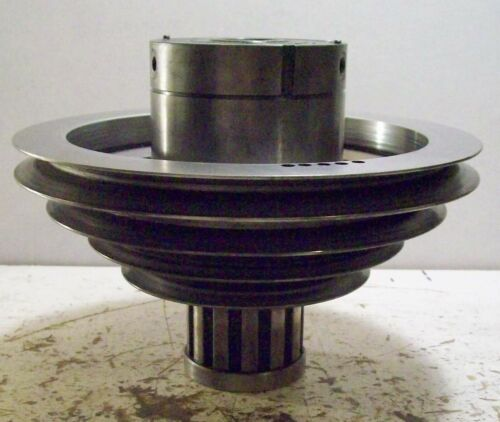 BRIDGEPORT MILL J HEAD STEP PULLEY WITH BEARING ASSEMBLY
