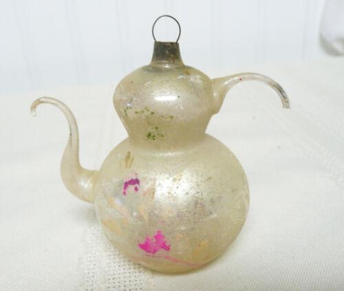 Antique Glass Teapot Christmas Ornament