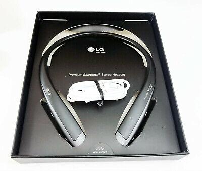 LG Tone Platinum+ Plus Black Neckband Headset Bluetooth HBS1125 Neck Headphones