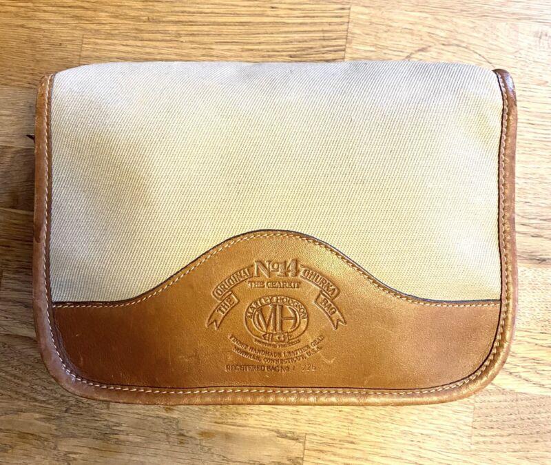 The Original Ghurka Bag Marley Hodgson Canvas & Leather No. 14 Clean RARE