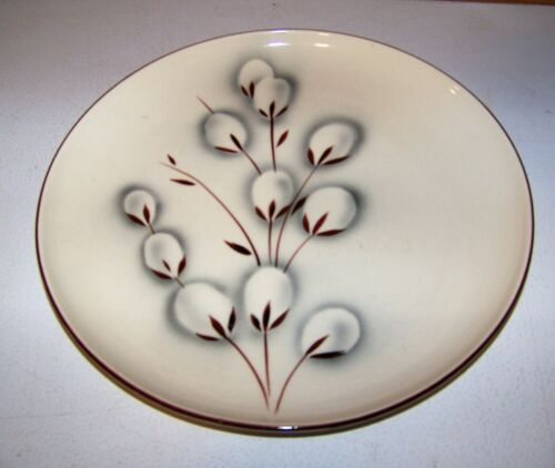 """Winfield Ware PUSSY WILLOW Mid Century China Dinner Plate 10 1/4"""""""