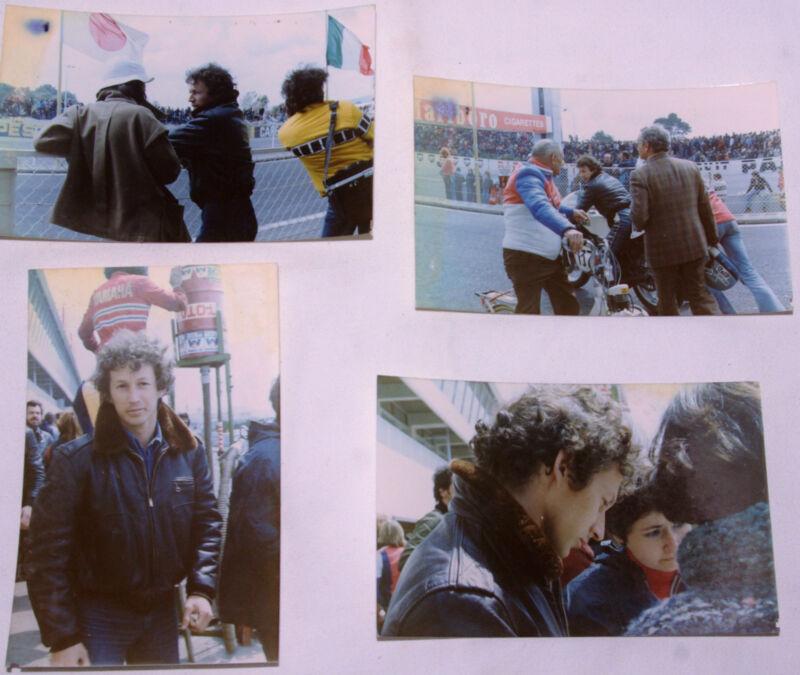 Gérard Choukroun (1954-1983), 4 Photos Original,Castellet,Paul Ricard,1977