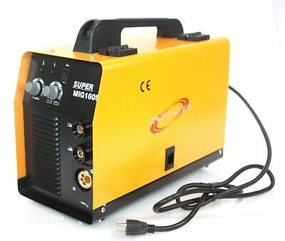 Mig 160a Wire Feed Mma Arc Welder Dual No Gas Flux Welding Machine 220v 160a