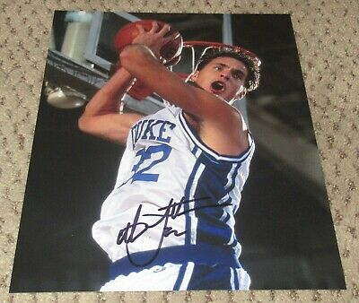 3c25dbc21bfe CHRISTIAN LAETTNER SIGNED 8X10 PHOTO AUTOGRAPH DUKE BASKETBALL BLUE DEVILS  AUTO