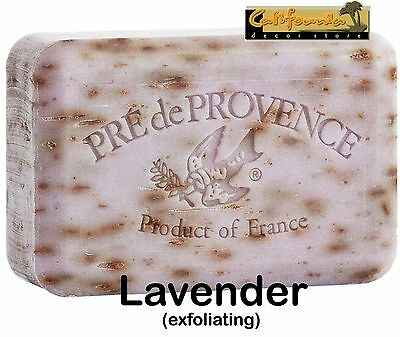 Pre de Provence LAVENDER BUD 250 Gram French Soap Bath Torrent Bar Shea Butter XL