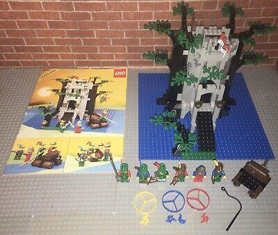 Lego 6077 Castle Forestmen's River Fortress Set Manual Minifigures Vintage Rare