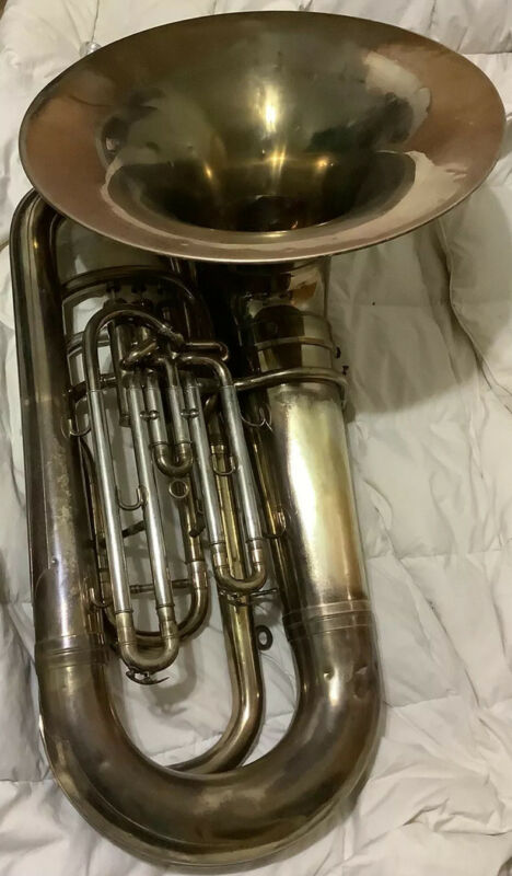 Vintage Besson BBb Bell Recording Tuba