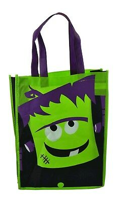 Halloween Trick or Treat Frankenstein's Monster Bag 40 x30cm free uk p&p  - Halloween Goody Bags Uk