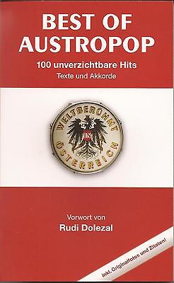 Songbuch - Gitarre  - BEST OF AUSTROPOP - 100 Hits - Texte und Akkorde