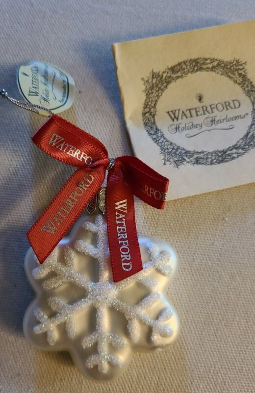 Waterford Holiday Heirlooms Snowflake Ornament
