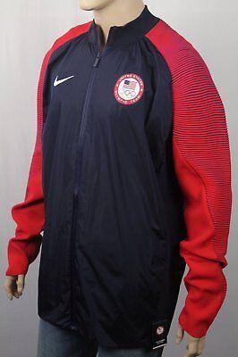 Nikelab USA Dynamische Offenbaren Olympisches Reißverschluss Trainingsjacke