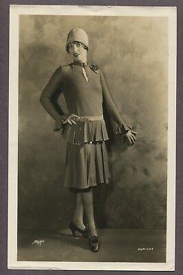 PAULINE STARKE Sexy Glamorous Flapper Girl Fashion 1927 PHOTO Art Deco Jazz Baby