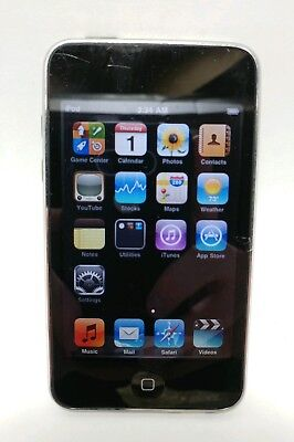 Apple iPod Touch 2nd Generation Black 8GB (Name engraved on the back)