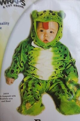 Frog Toddler Infant Costume Underwraps 26010 (Frog Costume Baby)