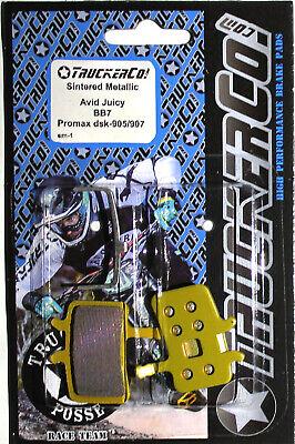 Truckerco Pastillas de Freno Disco Sinterizado Avid Juicy Siete 7 5 3...