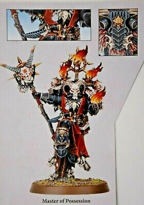 Warhammer 40k Chaos Space Marines Master of Possession Shadowspear -NoS-