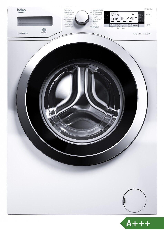 BEKO Waschmaschine WYA 81643 LE, 8kg, EEK:A+++ (Spektrum A+++-D)