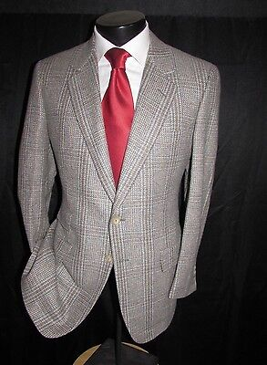 Dunhill London Men's 2Btn. Ticket Pocket Wool&Cashmere Sports Jacket Size 40R.