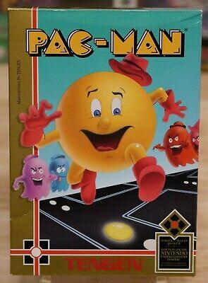 Pac-Man - TENGEN - Nintendo NES - COMPLETE!!! (cib)