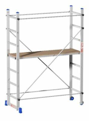 Andamio Andamios de Acero de Aluminio cm 158x80x210 H Construcción Extraíble