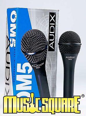 Audix OM5 Dynamic Hypercardioid Vocal Mic OM 5 Microphone MUSIC (Audix Om5 Dynamic Vocal Microphone)