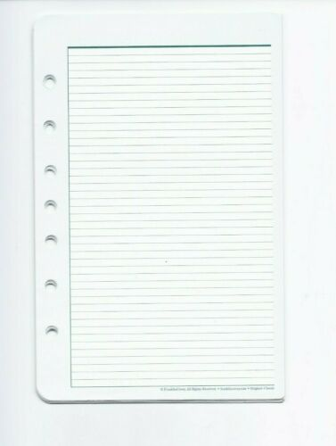 Lot of Misc. Franklin Classic Planner Note Sheets