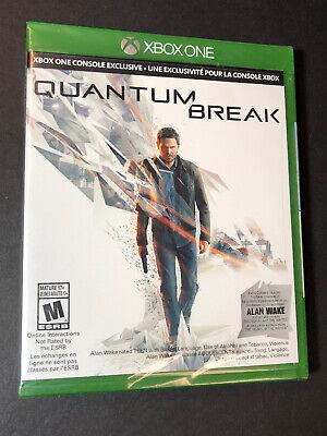Quantum Break [ Launch Edition W/ Bonus Alan Wake DLC ]  (XBOX ONE) NEW comprar usado  Enviando para Brazil