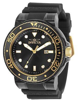 Invicta Men's Pro Diver 32337 51.5mm Black Dial Silicone Watch