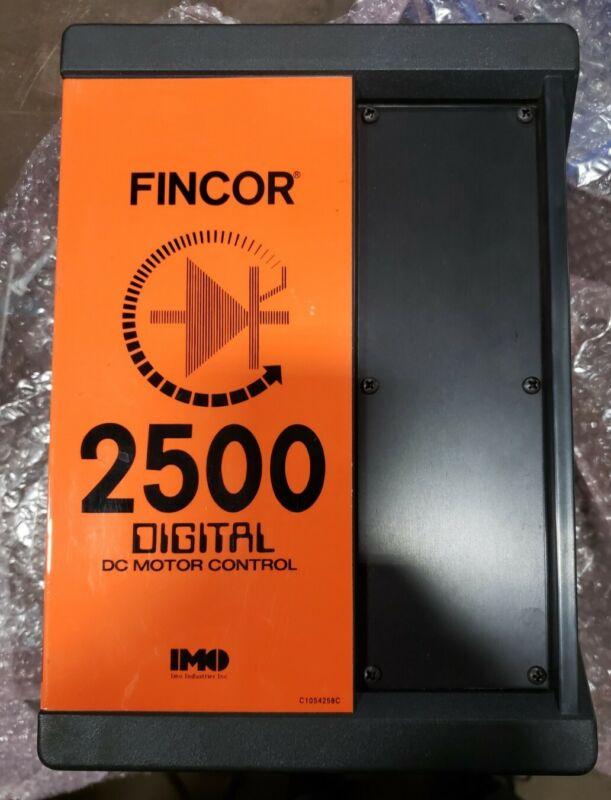 Fincor 2502 Dc Motor Control #105426405RM-H