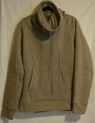 Helmut Lang Pullover Turtleneck Sweater Beige Men's Large Designer