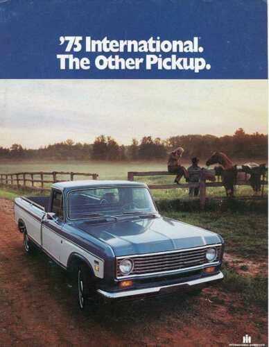 1975 International Pickup Sales Brochure