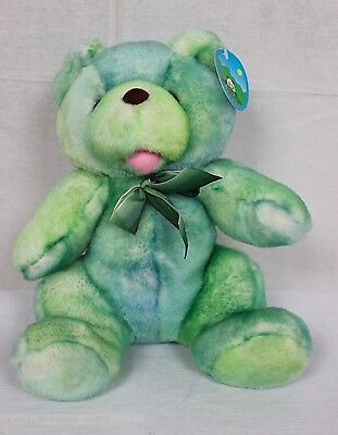 "Peek A Boo Bear Green 12"" Plush Stuffed Animal"