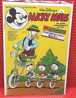 Walt Disney® Micky Maus Nr 46 von 1976 mit Schnipp und Beilage