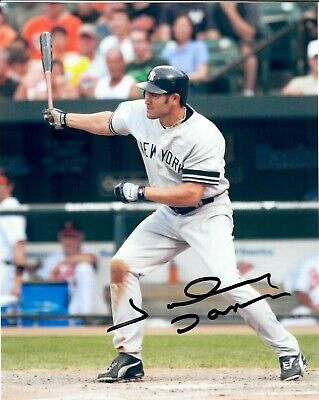 - JOHNNY DAMON SIGNED Autograph 8X10 PHOTO Picture New York Yankees Red Sox Royals