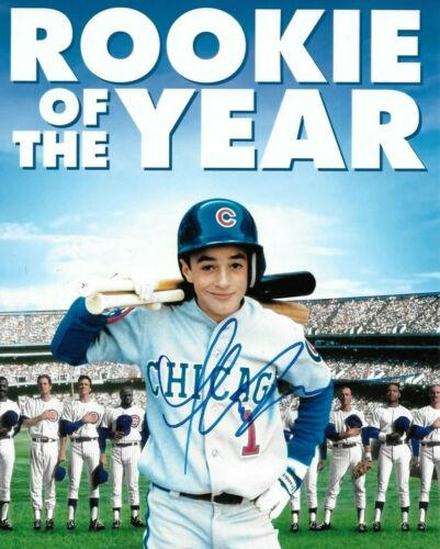 signed 8x10 by Thomas Ian Nicholas from the movie the rookie