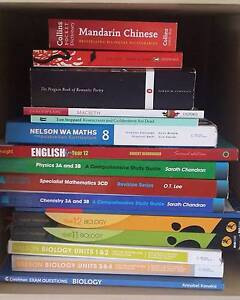 Assorted textbooks for sale Hillarys Joondalup Area Preview