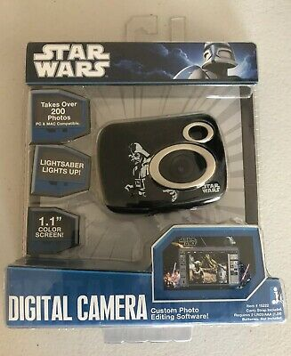 Star Wars Darth Vader 1.3 MP Digital Camera With 8 MB Internal Memory. -