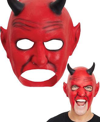Halloween Horror Adult Scary Devil Monster Overhead Mouth Free Fancy Dress Mask