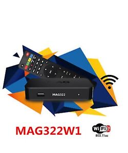 Iptv service and box mag 322 at ur door installed world live tv